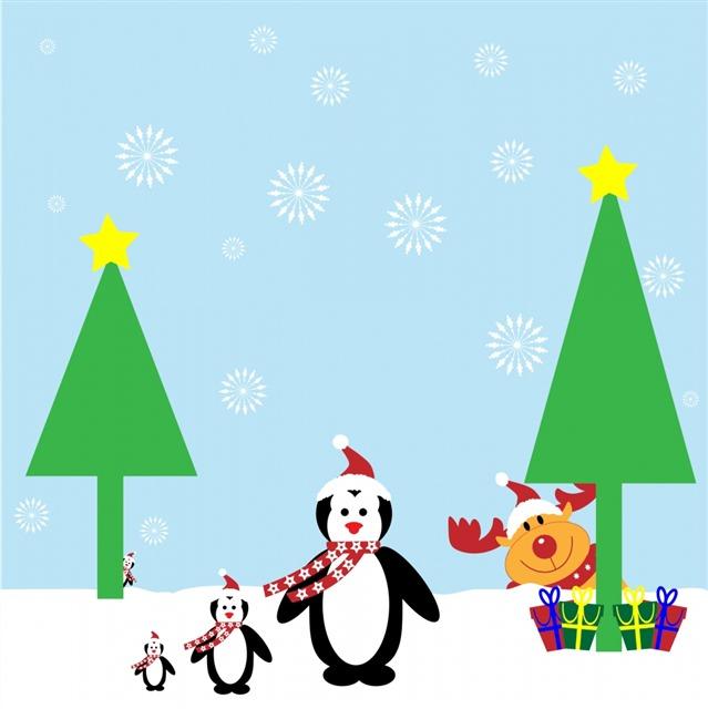 圣诞节卡片模板