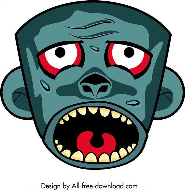 恐怖万圣节面具