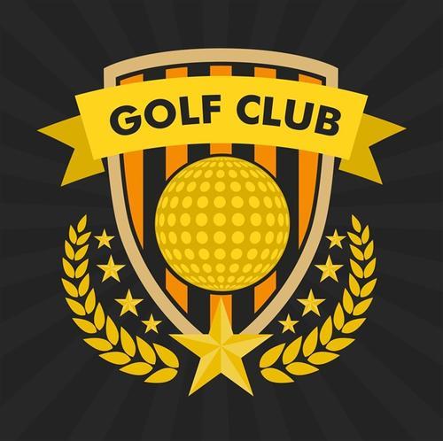 高尔夫俱乐部标志
