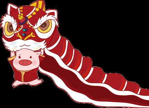春节舞狮习俗