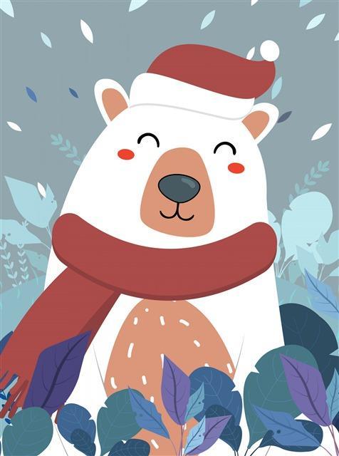 白色北极熊