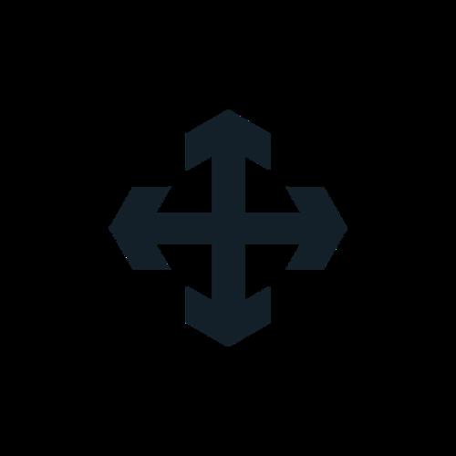 十字路口箭头图标
