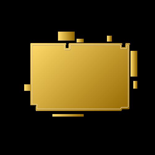古风烫金边框