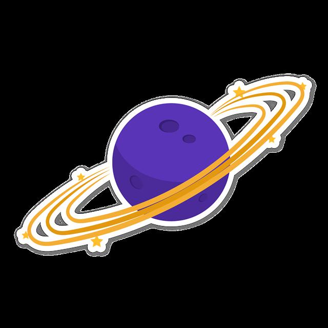 太阳系贴纸