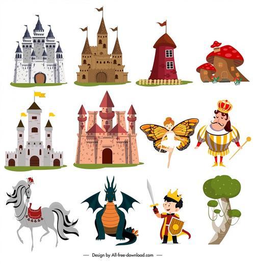西方童话元素图片