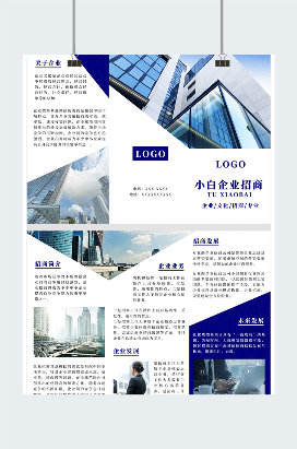 互联网企业招商宣传画册