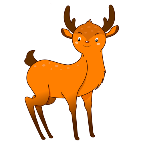小鹿简笔画