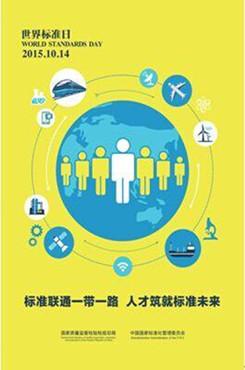 世界标准日主题海报