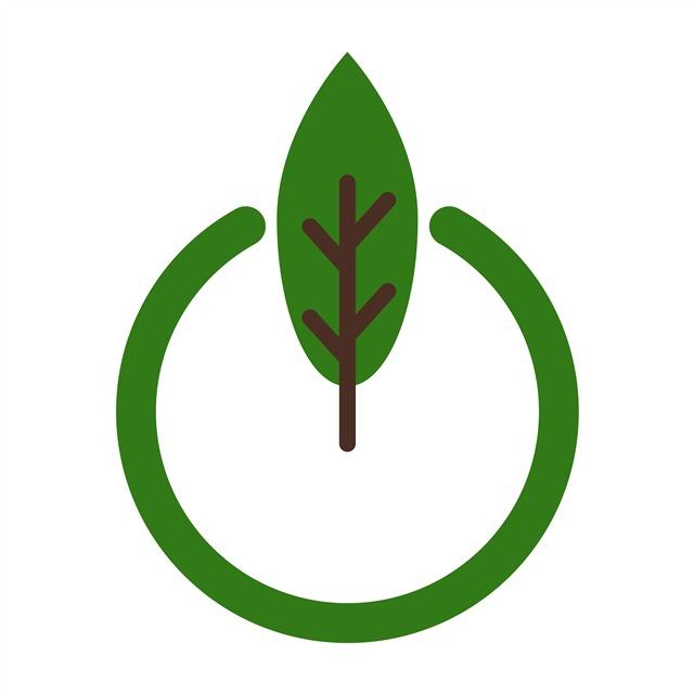 绿色环保符号矢量图