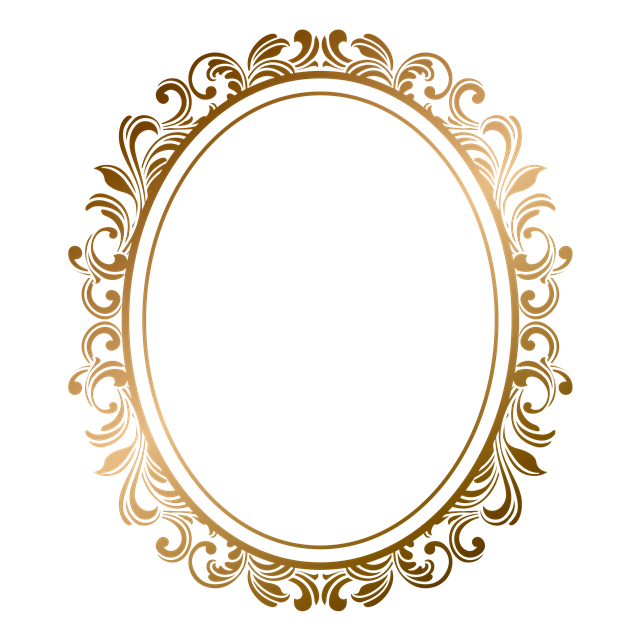 欧式镜面边框