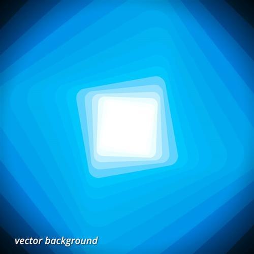 蓝色空间背景