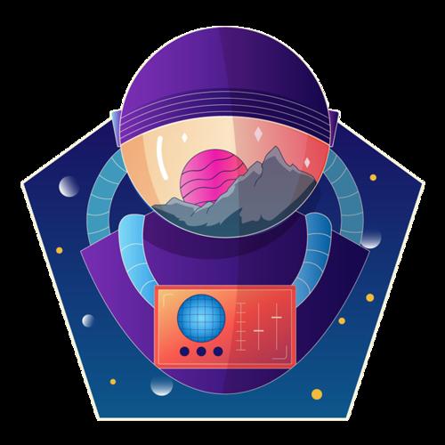 抽象宇航员