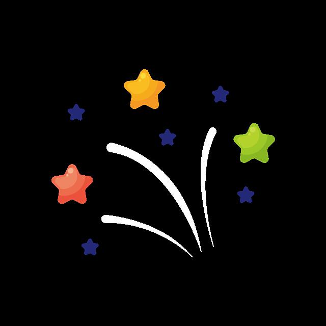五角星背景装饰