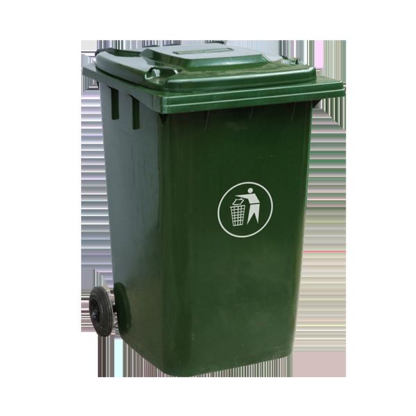 绿色厨余垃圾桶