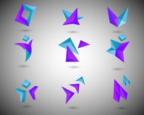 几何图形logo设计合集