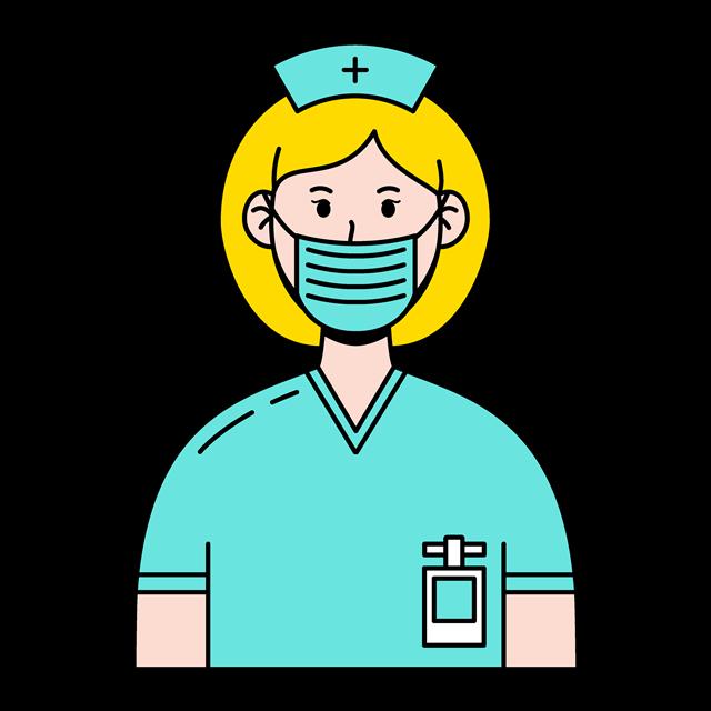 戴口罩护士