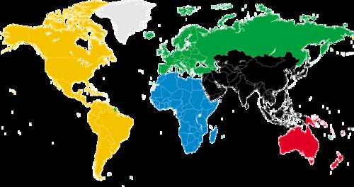 超清世界地图矢量图
