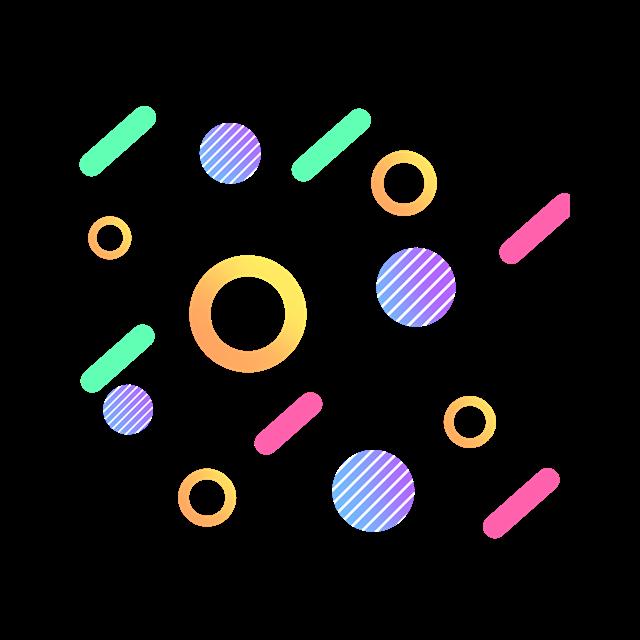 双十一海报背景装饰元素