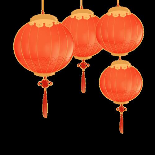 红色节日灯笼