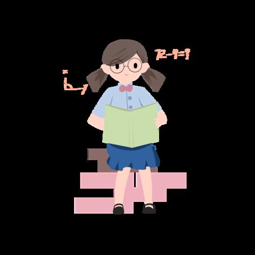 培训班招生插画