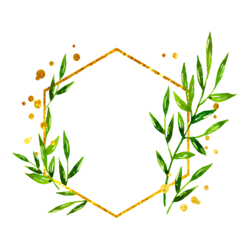 树叶边框装饰