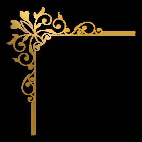 金属树叶边框