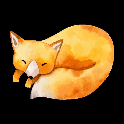 可爱小狐狸图片