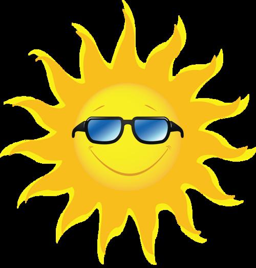 戴眼镜的太阳