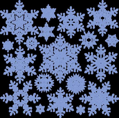 雪花纹理图片