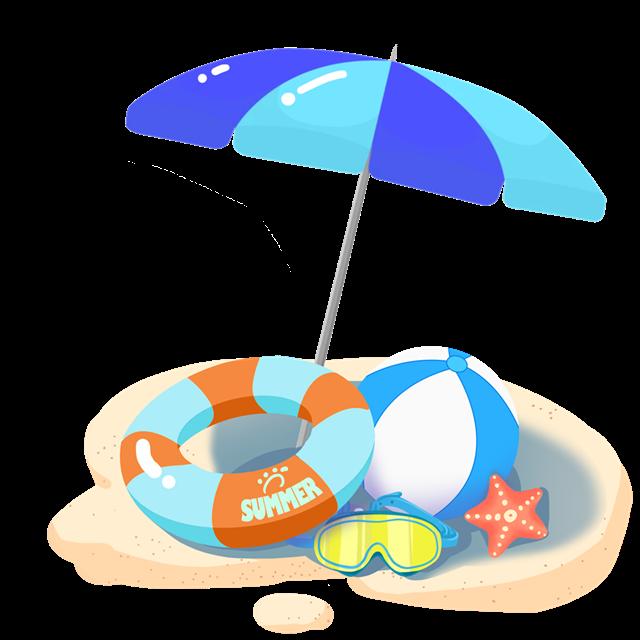 沙滩度假装饰图片