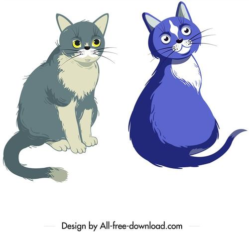 手绘宠物猫图片