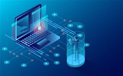 网络科技背景图片