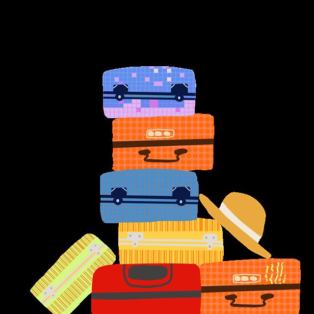 行李箱简笔画