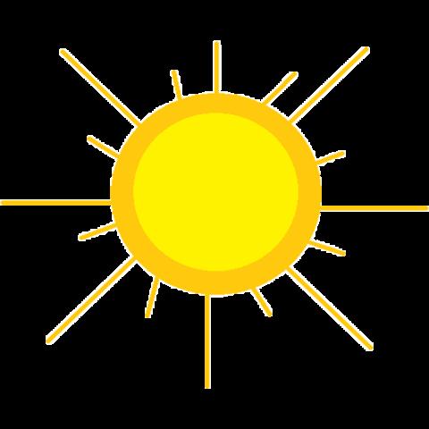 简约太阳装饰图案