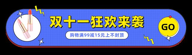 双十一狂欢促销胶囊banner