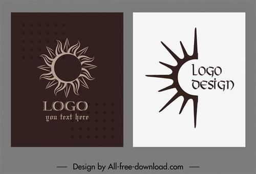 太阳logo图案