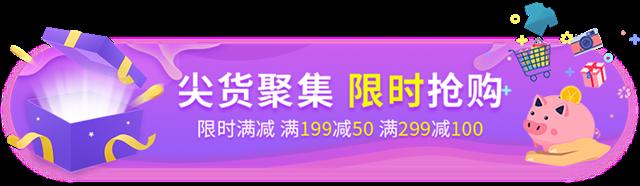 双十一尖货抢购胶囊banner