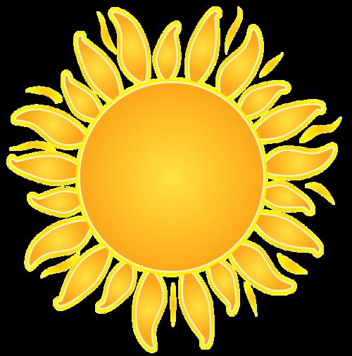唯美太阳图片