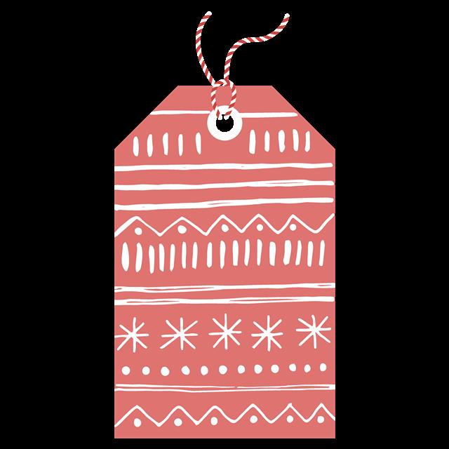 创意圣诞节吊牌