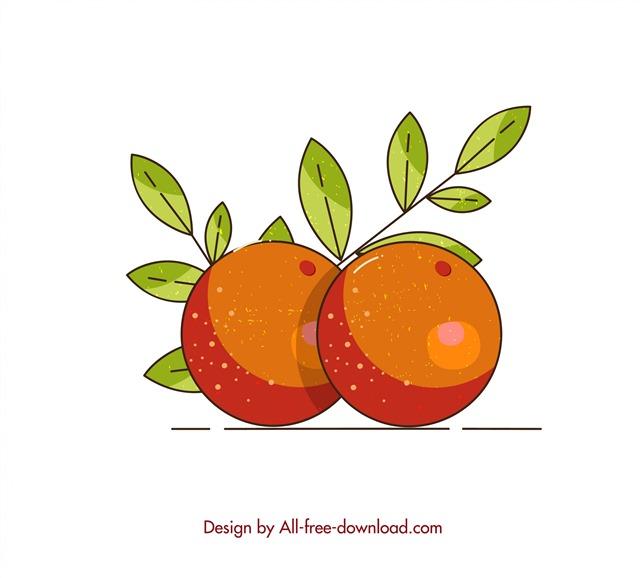 扁平化水果