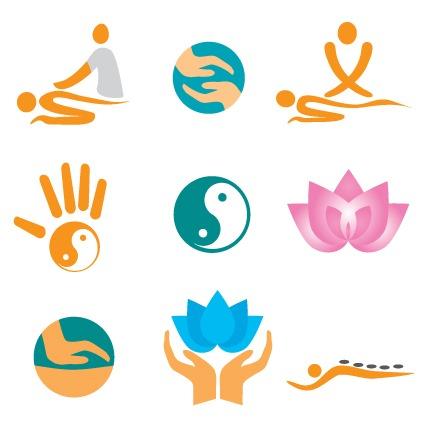 瑜伽logo标志图片
