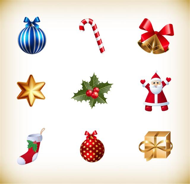圣诞节装饰挂件合集