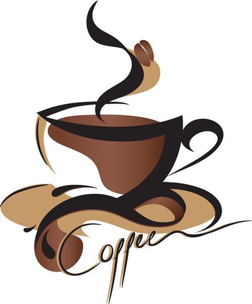 网红咖啡logo