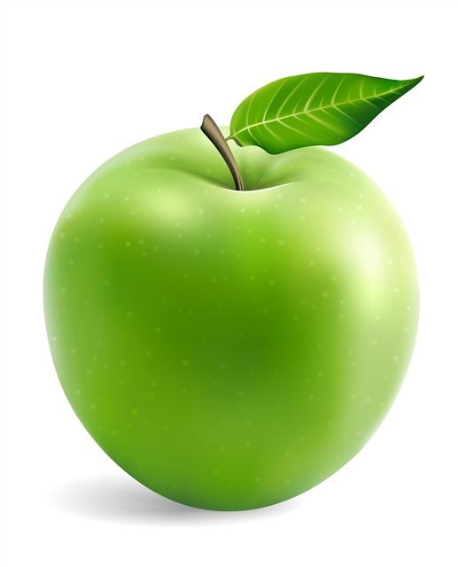 3D青苹果
