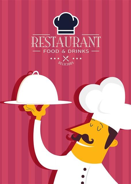 西餐厅宣传单
