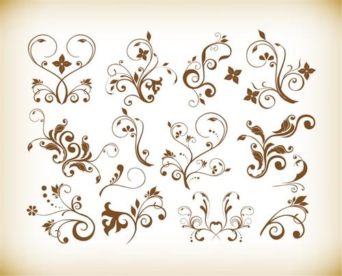 简单好看的花纹图片