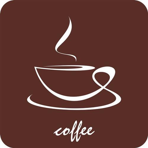 醇香咖啡背景