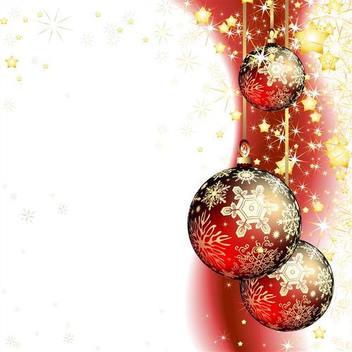 圣诞节主题装饰背景