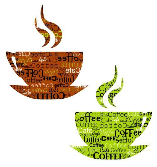 咖啡杯logo