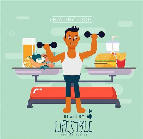 男性健康运动插图
